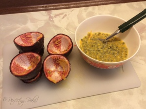 Deseeded Passionfruits