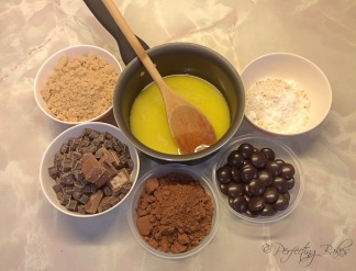 Ingredients for the Minstrel Brownies
